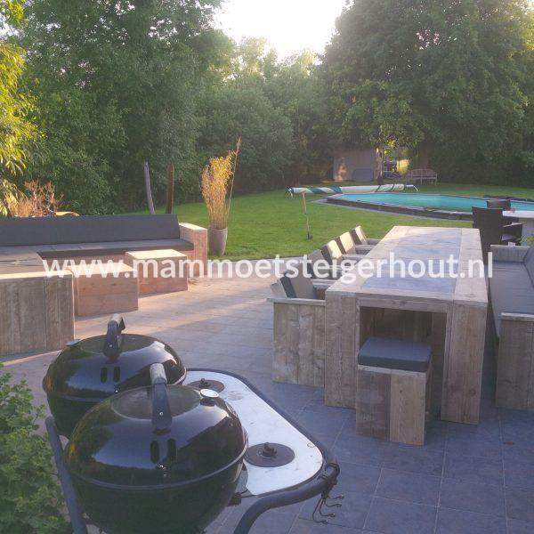 Steigerhout Tuinset Exclusive