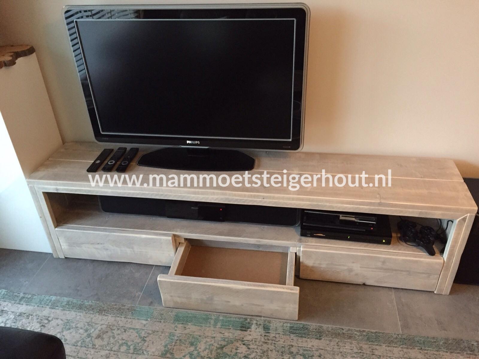 Steigerhout Tv Kast : Steigerhout tv meubel hamar mammoet steigerhouten