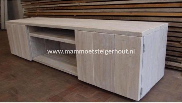 Tv Kast Steigerhout : Steigerhout tv meubel norcia mammoet steigerhouten