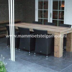 Steigerhout Tuin Tafel Livigno