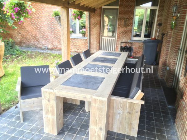 Steigerhout Tuinset Exclusive
