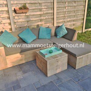 Steigerhout Hoekbank Napels