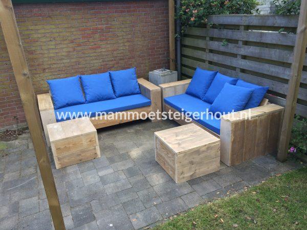 Steigerhout Loungeset