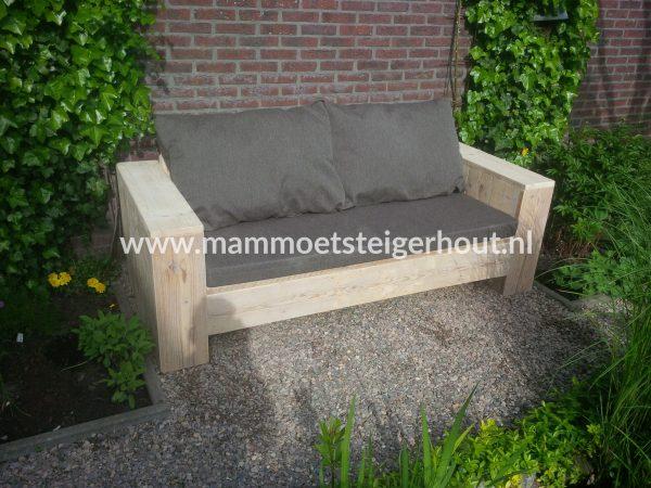 Steigerhout Loungebank Rosa