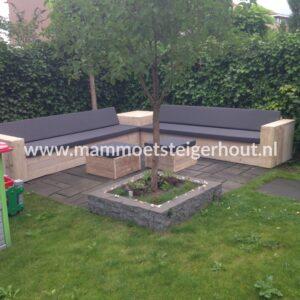 Steigerhout Loungeset Adria