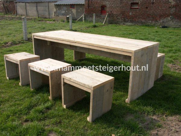Steigerhout Picknicset Mestre